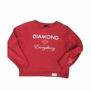 DIAMOND SUPPLY CO. Women's crew neck (medium)